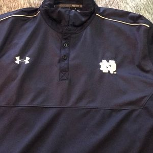 UA Notre Dame polo Navy Blue